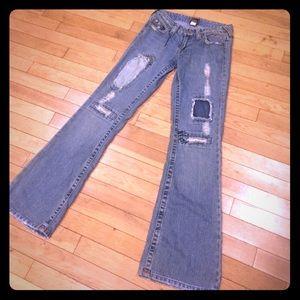 True religion women bootcut jeans size 27
